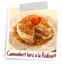 recette camembert pomme redlove chair rouge