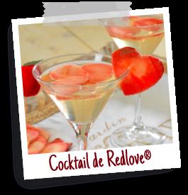 recette coktail pomme redlove chair rouge